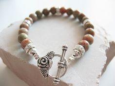 brown jade bracelet
