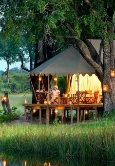 Duba Expedition Camp - Okavango Delta, Botswana
