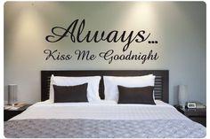muurteksten slaapkamer engels - Google zoeken | Decorating ideas ...