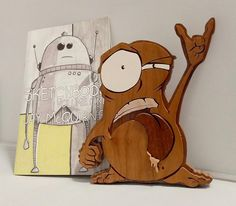 My Buddy, Scroll Saw, Pick Up, Wood Art, Wood Crafts, Bookends, Woodworking, Drawings, Instagram Posts