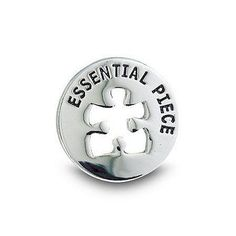 Proposal Approved for new recognition program!  Lapel Pin - Milestone - Essential Piece Round
