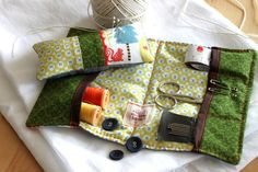 Sewing kit pin cushion travel sewing kit embroidery kit.
