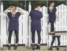 Maternity Stitch Fix: 41Hawthorn tunic and Rune leggings - What Do You Do, Dear?