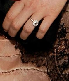 Claire Danes Engagement Ring #ring #engagement #diamond #bling