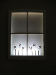 Backlit window sash!