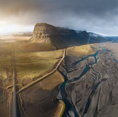 SkyPixel's jaw-dropping drone photos of the year: Iceland. One of the shortlisted nominated entries SkyPixel's 2017 Photo Contest