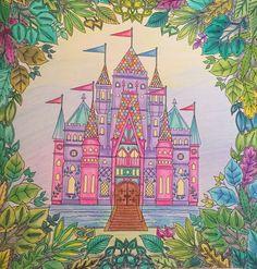 Enchanted forest colouring book Johanna basford