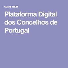 Plataforma Digital dos Concelhos de Portugal