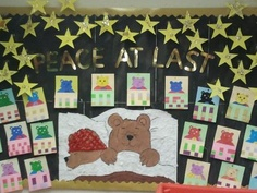 A lovely Peace at Last display by  andreaclare. For fab Peace at Last resources, go to http://www.twinkl.co.uk/resources/peace-at-last-story-primary-teaching-resources #classroomdisplay