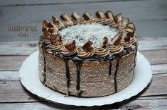 Gluténmentes Bounty torta   Gluténmentes élet Paleo, Fondant, Food And Drink, Desserts, Blog, Tailgate Desserts, Deserts, Beach Wrap, Postres