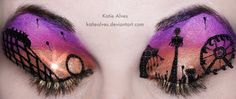 Carnival Sunset Eyes
