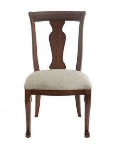 Two Lucille Side Chairs at Horchow.