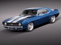1969 Chevrolet Camaro SS.