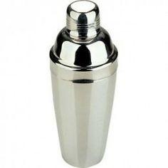 Coctelera profesional  acabada en acero brillante y con una capacidad de 780 ml.