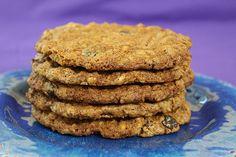 High Fiber Cookies - Jenny Can Cook Fig Cookies, Date Cookies, Diabetic Deserts, Healthy Desserts, Healthy Recipes, Breakfast Cookies, Breakfast For Dinner, Cookie Desserts
