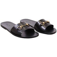 Designer Clothes, Shoes & Bags for Women Black Leather Sandals, Black Shoes, Black Sandals, Men's Sandals, Gucci Mens Sandals, Boy Shoes, Men's Shoes, Shoes Men, Best Shoes For Men