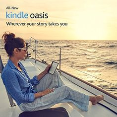 """All-New Kindle Oasis E-reader – Champagne Gold, 7"""" High-Resolution Display (300 ppi), Waterproof, Built-In Audible, 32 GB, Wi-Fi - with Special Offers"""