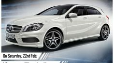 LWD Women Love Mercedes contest winner drives Mercedes-Benz A-Class | Rush Lane