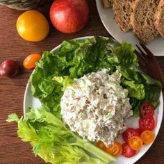 Simple Chicken Salad from TWO SLEEVERS
