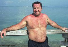 hairy beach bear island swim