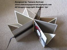 Tamara's Paper Trail: Fold Up Scrap Album