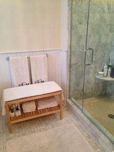 How a Cute Ikea Bathroom Bench Cured My Dry Skin