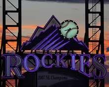 Coors Field, Colorado Rockies