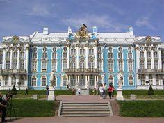 THE CATHERINE PALACE TSARSKOE SELO near ST PETERSBURG RUSSIA