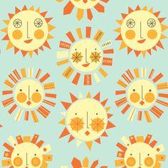 let_it_shine fabric by amel24 on Spoonflower - custom fabric