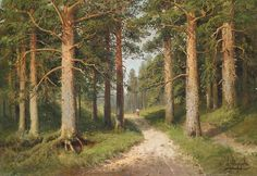 Русский художник-пейзажист: Семен Федорович Федоров (1867–1910)