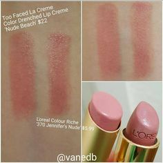 """DUPETHAT on Instagram: """"What an awesome drugstore dupe for Too Faced """"Nude Beach,"""" shared with us by @vanedb! Tag us in YOUR dupes for a chance to be featured. """""""