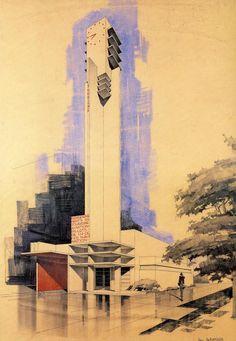 Robert Mallet-Stevens' Information & Tourist Pavilion (Paris Exposition, 1925)