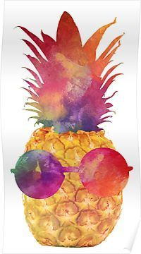 'Pineapple' Sticker by sweetslay Available as T-Shirts & Hoodies, Men's Apparels, Stickers, iPho Pineapple Wallpaper, Pineapple Art, Pineapple Painting, Pineapple Backgrounds, Pineapple Watercolor, Pineapple Clipart, Wallpaper Telephone, Cute Wallpapers, Iphone Wallpaper