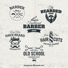 barber shop decal style - Recherche Google