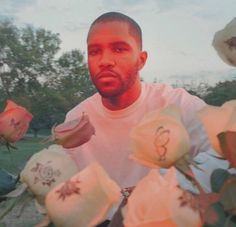 Frank Ocean photographed by Petra Collins I really like how intimate yet mysterious this photo feels. I would like to experiment with creating more emotion and intimacy in my photos as well Christopher Abbott, Petra Collins, Donald Glover, John Legend, Photo Wall Collage, Picture Wall, Boys Don't Cry, Tyler The Creator, Flower Boys