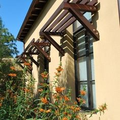 Contemporary Home spanish awning Design Ideas, Pictures, Remodel and Decor