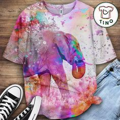 Elephant Shirt Elephant Shirt, Border Collie, Tie Dye, Lovers, Animal, Shirts, Tops, Women, Fashion