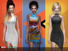 BEO Creations: Cocktail dress 01 • Sims 4 Downloads