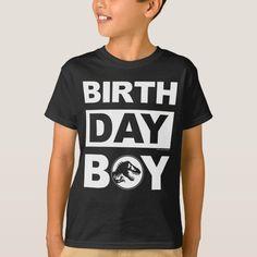 Jurassic World | Birthday Boy - Name & Age T-Shirt