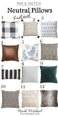 Home Decor Diy Add layers of cozy neutral pillows for a quick and inexpensive refresh of your space!Home Decor Diy Add layers of cozy neutral pillows for a quick and inexpensive refresh of your space! Inexpensive Home Decor, Cute Home Decor, Unique Home Decor, Cheap Home Decor, Neutral Pillows, Pillow Room, Contemporary Home Decor, Sofa Pillows, Decorative Couch Pillows