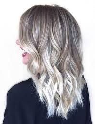 Image result for balayage icy blonde
