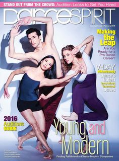 Madelyn Ho, Ross Katen and Anne O'Donnell on our February 2016 cover (photo by Jayme Thornton)