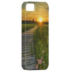 Prairie Sunset iPhone 5 Covers