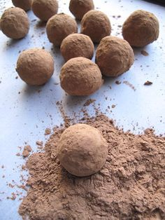 | AIP / Paleo Coconut and Carob Truffles (dairy-free and nut-free) | http://asquirrelinthekitchen.com