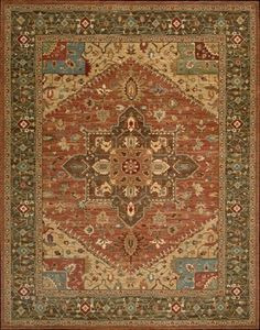 """Nourison Living Treasures (LI01) Rust Rectangle Area Rug, 8-Feet 3-Inches by 11-Feet 3-Inches (8'3"""" x 11'3"""") -- Check out the image by visiting the link."""