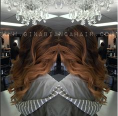 Beautiful work! Are your Glam Seamless Tape-In Hair Extensions installed for the New Year?!