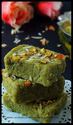 Sharing with you guys a super simple dessert recipe! Traditionally most Indian sweets use mawa / khoya be it in burfi's , peda's etc. Now again, mawa is not easy to find he… Indian Dessert Recipes, Indian Sweets, Indian Snacks, Indian Recipes, Recipes Dinner, Fudge, Burfi Recipe, Chocolates, Indian Dishes