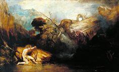 Джозеф Мэллорд Уильям Тёрнер. Аполлон и Пифон. 1811