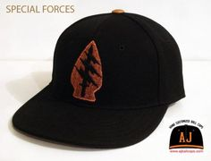 ATTICA JAILHOUSE「Special Forces Custom 」Fitted Baseball Cap