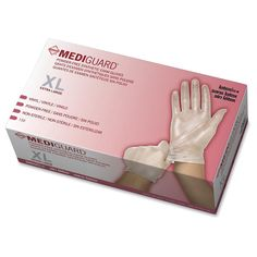Medline MediGuard Vinyl Non-sterile Exam Gloves -